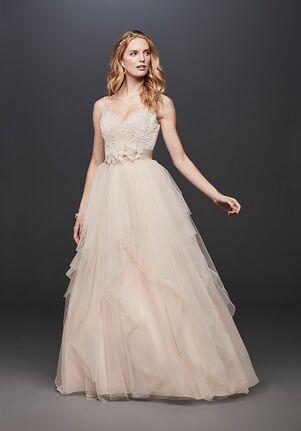 David's Bridal Galina Style WG3913 Ball Gown Wedding Dress