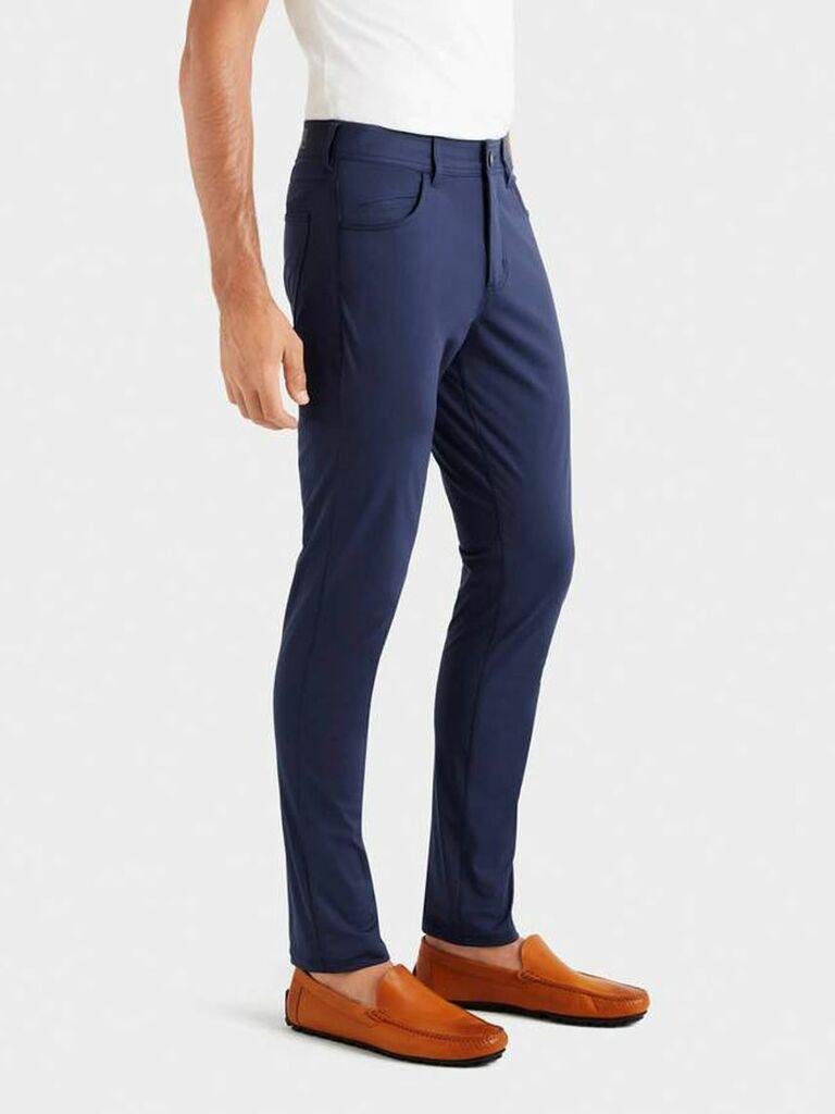 Men's navy pants