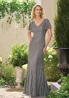 Jade J195021 Grey Mother Of The Bride Dress