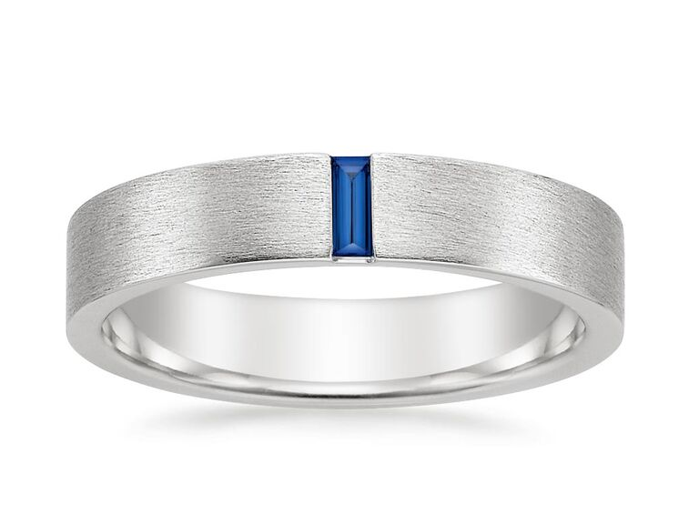 men's sapphire engagement ring