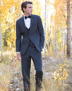 Allure Men Granite Suit Gray Tuxedo