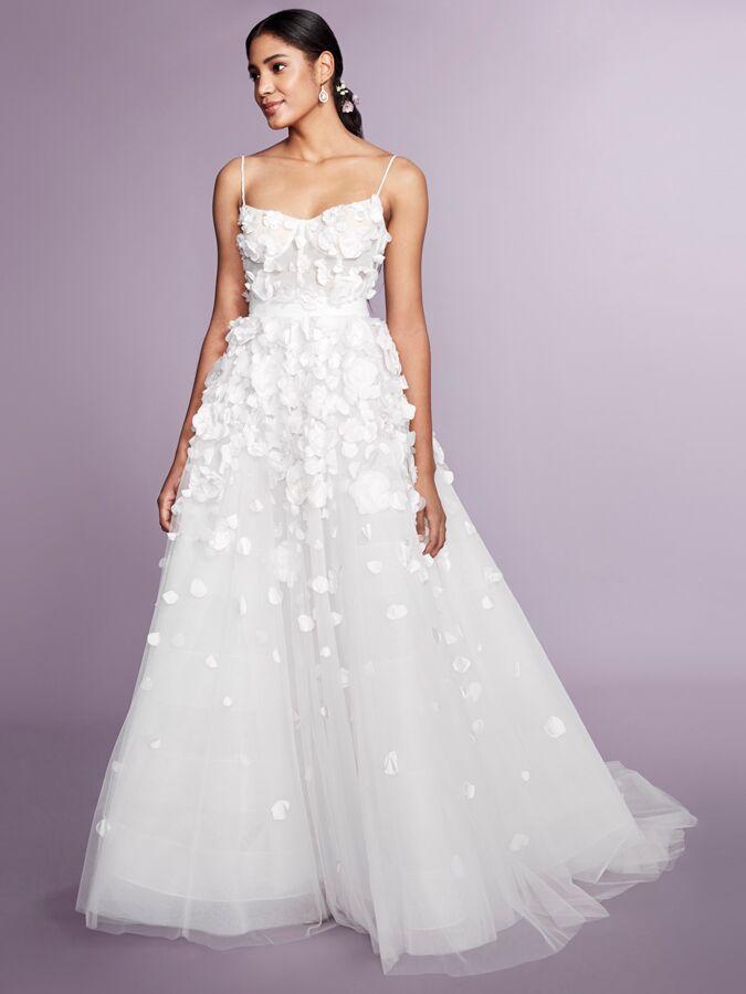 Marchesa Notte sleeveless ball gown