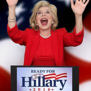 New York City, NY Hillary Clinton Impersonator | Linda Axelrod - Hillary Clinton impersonator