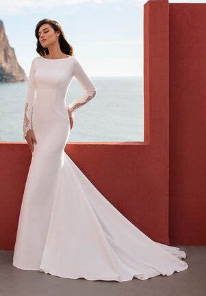WHITE ONE SEA Mermaid Wedding Dress