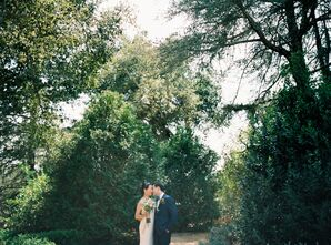 Romantic, Simple Garden Wedding