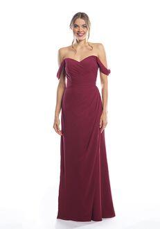 Bari Jay Bridesmaids 2080 Off the Shoulder Bridesmaid Dress