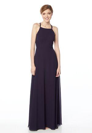 #LEVKOFF 7127 Halter Bridesmaid Dress