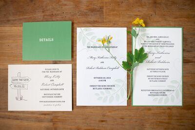 Custom Invitations by Cassandra Flinn