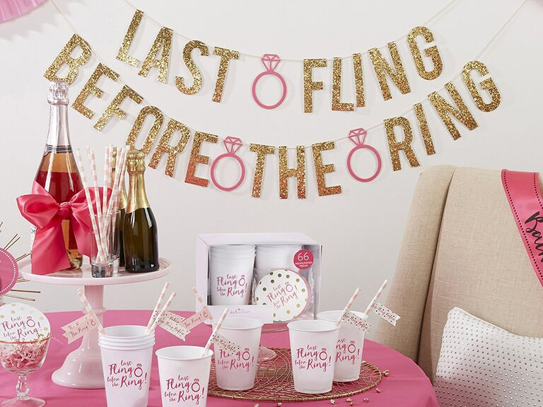 Bachelorette party decorations kit