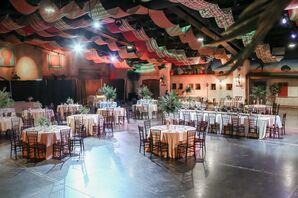 Modern and Tropical Savannah Marketplace Reception
