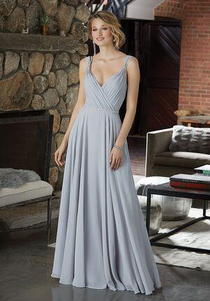 Morilee by Madeline Gardner Bridesmaids 21588 V-Neck Bridesmaid Dress