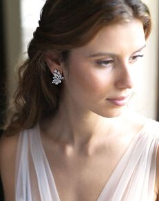 Dareth Colburn Farah CZ Earrings (JE-7082) Wedding Earring photo