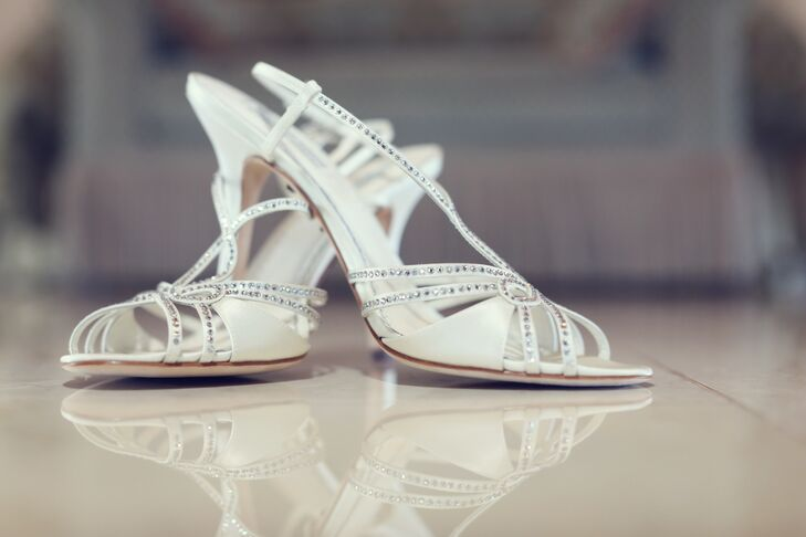 Crystal Slingback Bridal Sandals