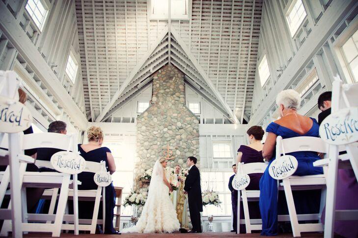 Mallard Island Yacht Club Wedding Ceremony