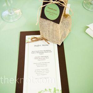 Wildflower Wedding Favors