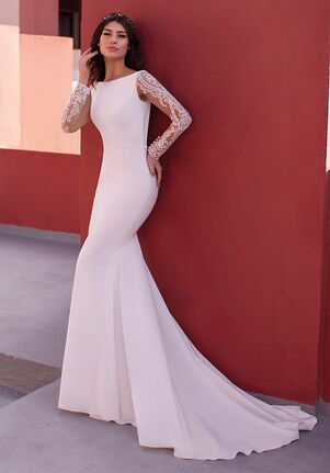 WHITE ONE ESSENTIALS ROSIN Mermaid Wedding Dress