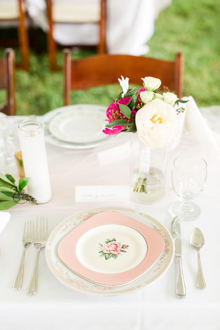 Vintage Floral Dinnerware