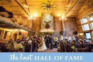 Wedding reception venues in minneapolis mn the knot whitefish lodge and manhattan beach lodge junglespirit Image collections