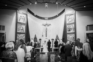 Miami Lakes, Florida, Traditional Catholic Church Ceremony