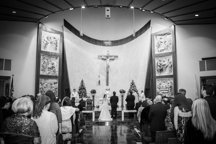 Miami Lakes, Florida, Traditional Catholic Church Ceremony