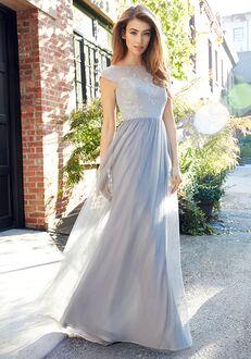 Hayley Paige Occasions 5805 Bateau Bridesmaid Dress