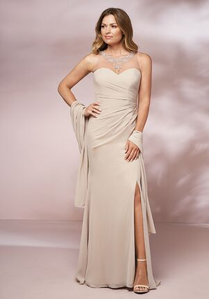 Jade Mother of the Bride by Jasmine J205002 Ivory Mother Of The Bride Dress