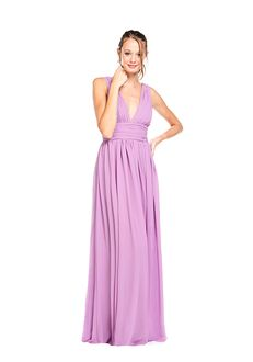 Khloe Jaymes DEVIN V-Neck Bridesmaid Dress