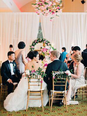 Flowy Tulle Ball Gown Wedding Dress
