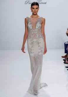 Pnina Tornai for Kleinfeld 4534 Sheath Wedding Dress