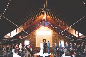 Romantic Barn Ceremony