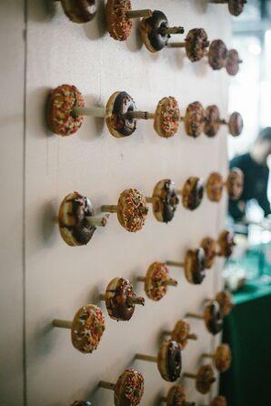 Doughnut Wall Dessert Display