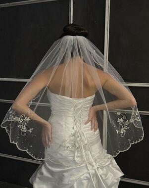 Elena Designs E1150 Short Ivory
