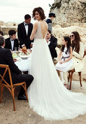 Justin Alexander Brandy A-Line Wedding Dress
