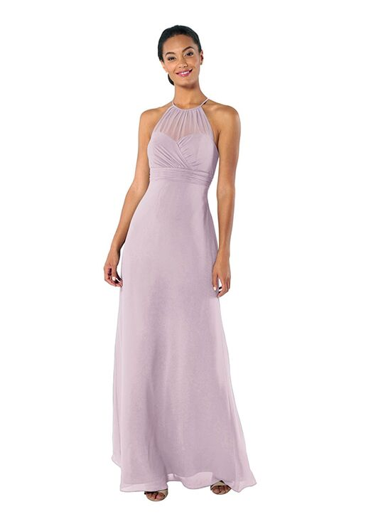 Brideside Brideside Carrie in Macaron Illusion Bridesmaid Dress