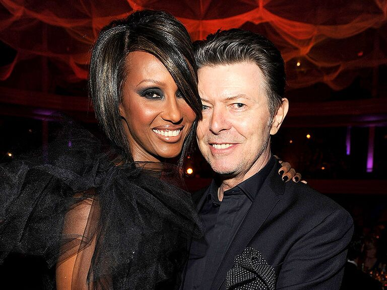David Bowie and Iman famous celebrity couples