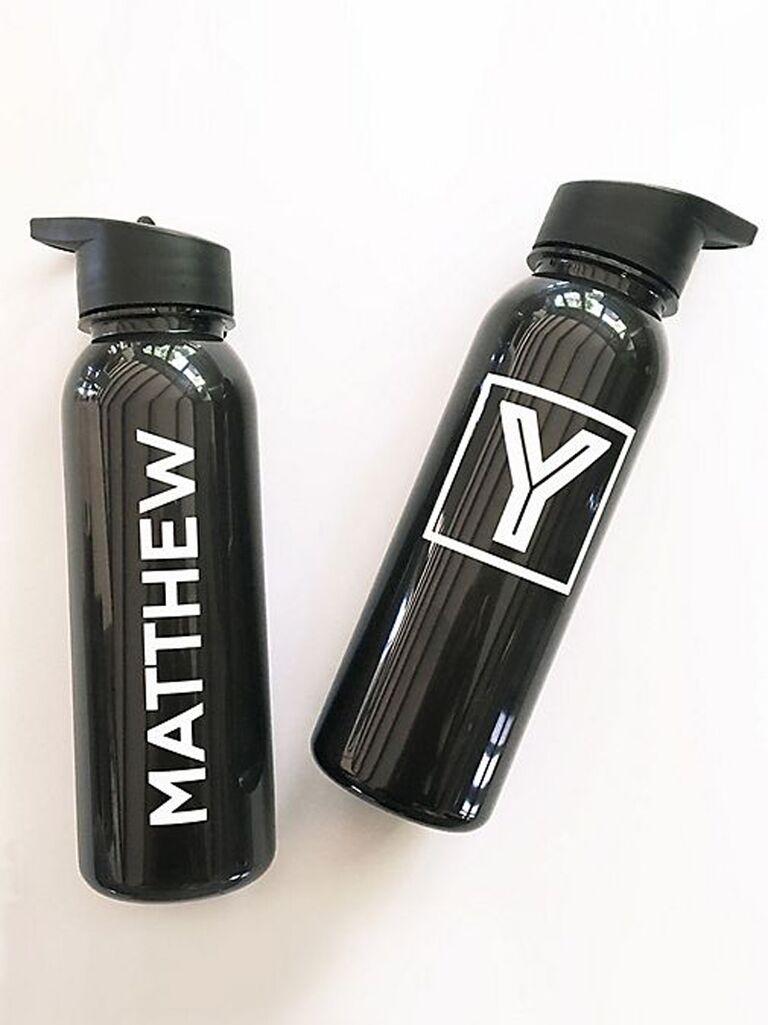 Personalized water bottle best man gift idea
