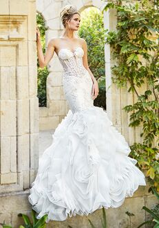 Moonlight Couture H1358A Mermaid Wedding Dress