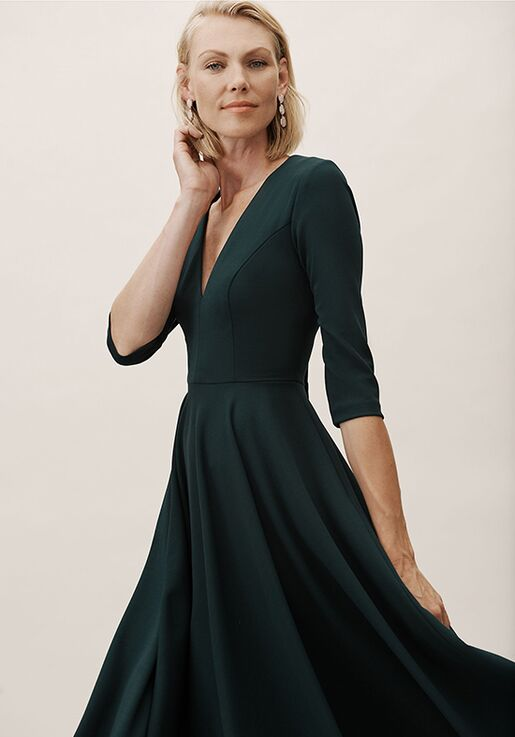 BHLDN (Mother of the Bride) Valdis Dress Green Mother Of The Bride Dress