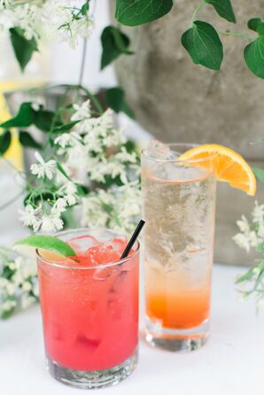 Aperol Spritz and Spiked Watermelon Agua Fresca