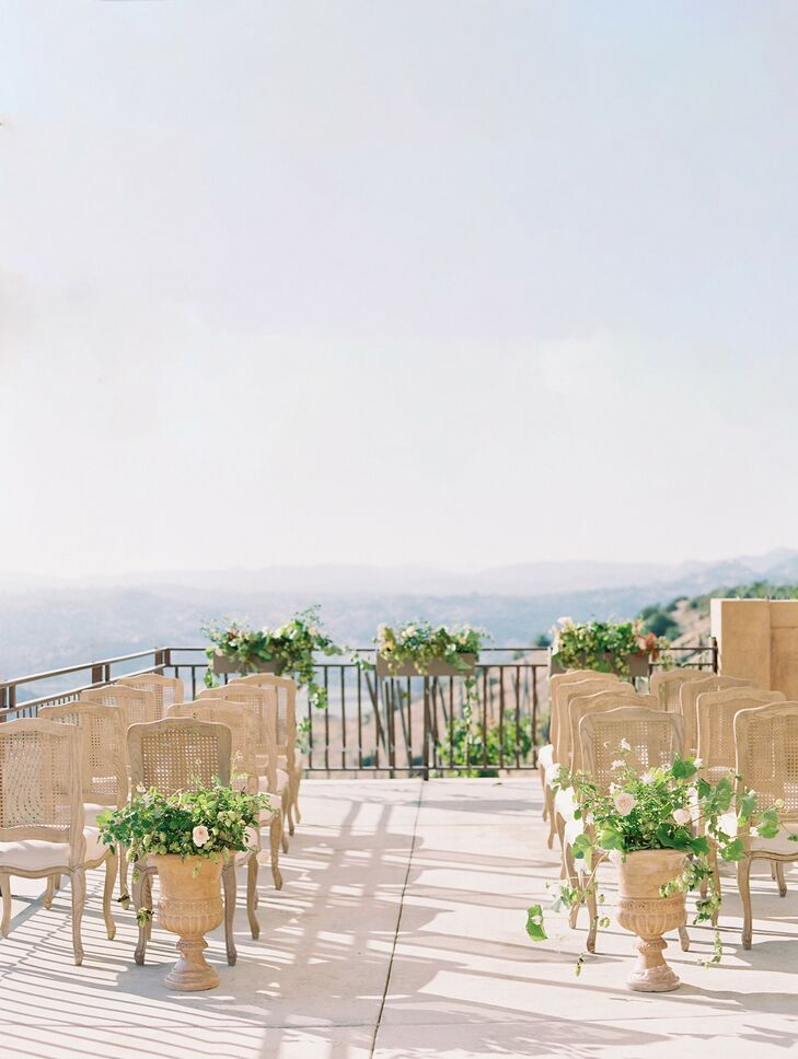 Ceremony Space at Cordiano Winery in Escondido, California