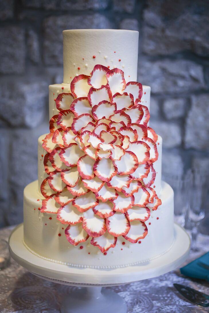 Four-Tier, Intricate Cake