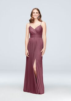 David's Bridal Collection David's Bridal Style F19944 V-Neck Bridesmaid Dress