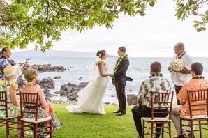 Kukahiko Estate Waterfront Ceremony Location