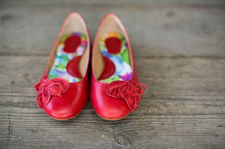 Red Bridal Flats