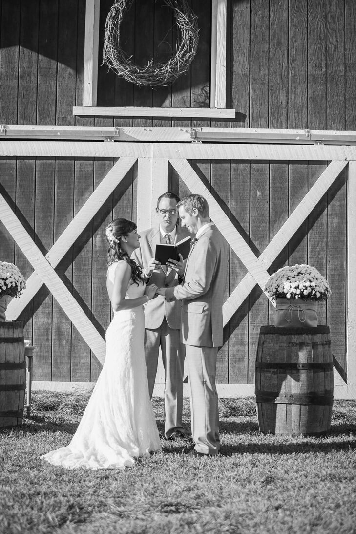 Rustic Barn Ceremony