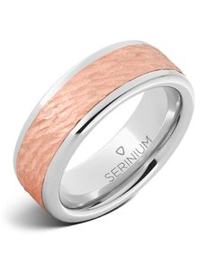 Serinium® Collection Rose Gold Dryad — Serinium® Ring-RMSA002568 Serinium® Wedding Ring