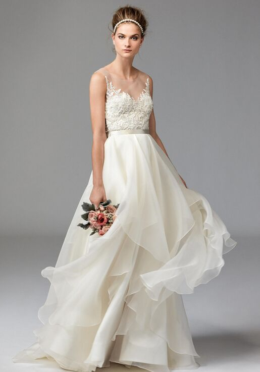 f127d957170e Watters Brides Dianthus Top 1041B/Jarred Skirt 1003B A-Line Wedding Dress