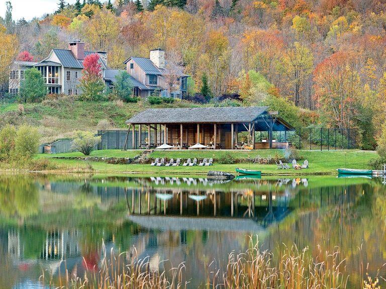 Twin Farms landscape in Vermont