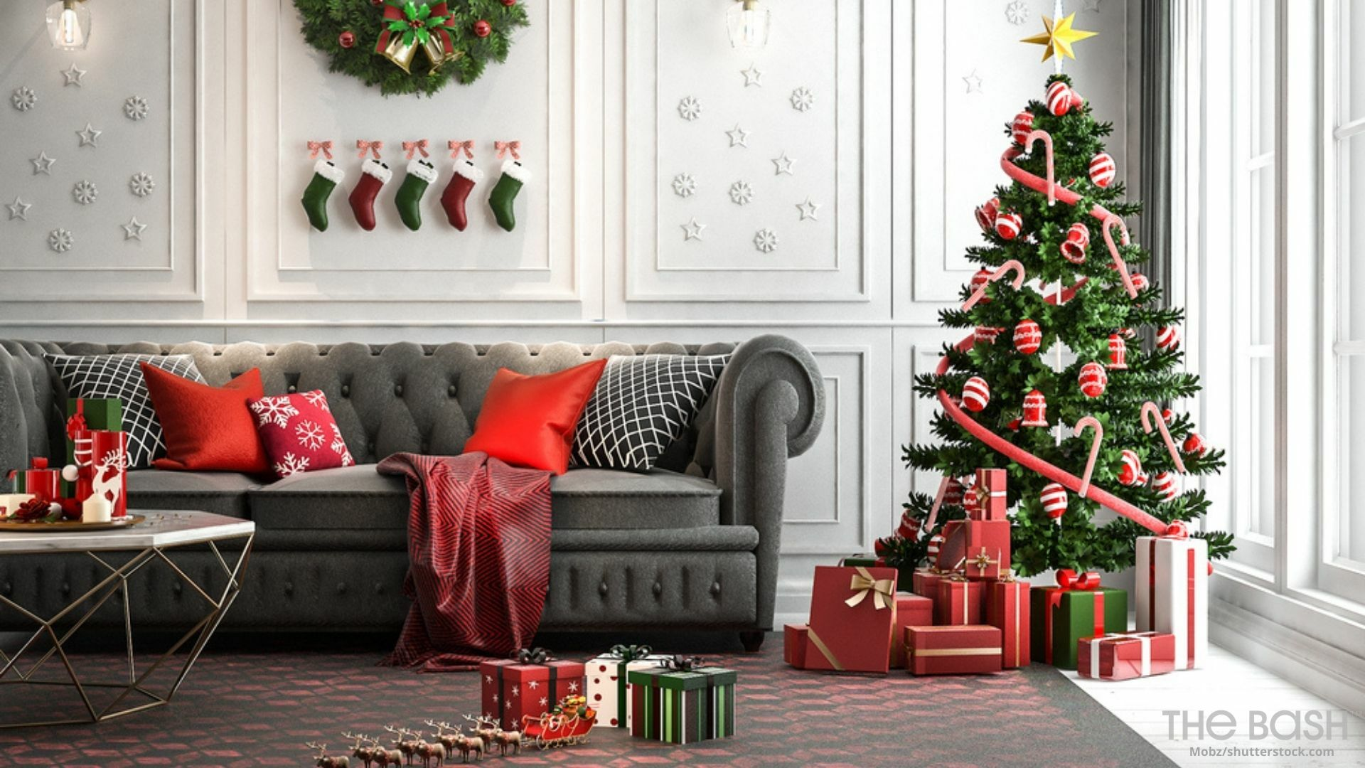 79 Festive Christmas Zoom Backgrounds Free Download