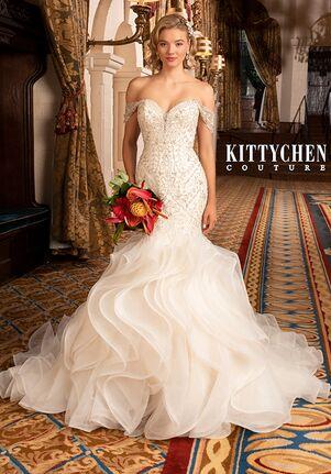 KITTYCHEN Couture DAKOTA, K2043 Mermaid Wedding Dress